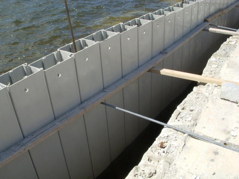 Sea Wall Construction
